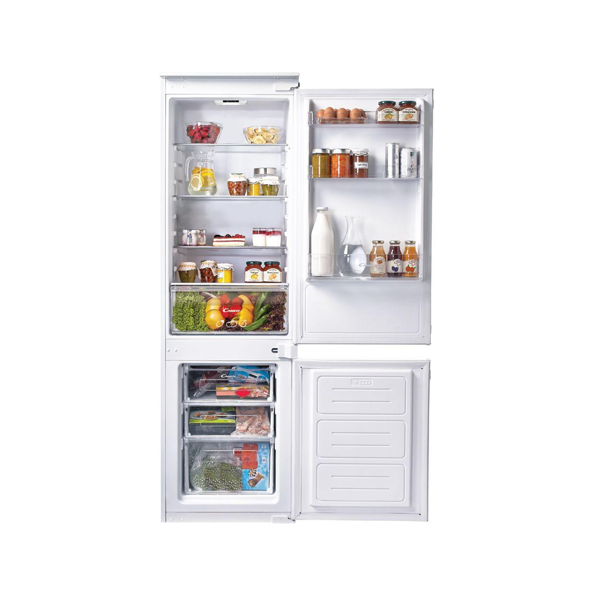 Réfrigérateur combiné encastrable CANDY CKBBS100
