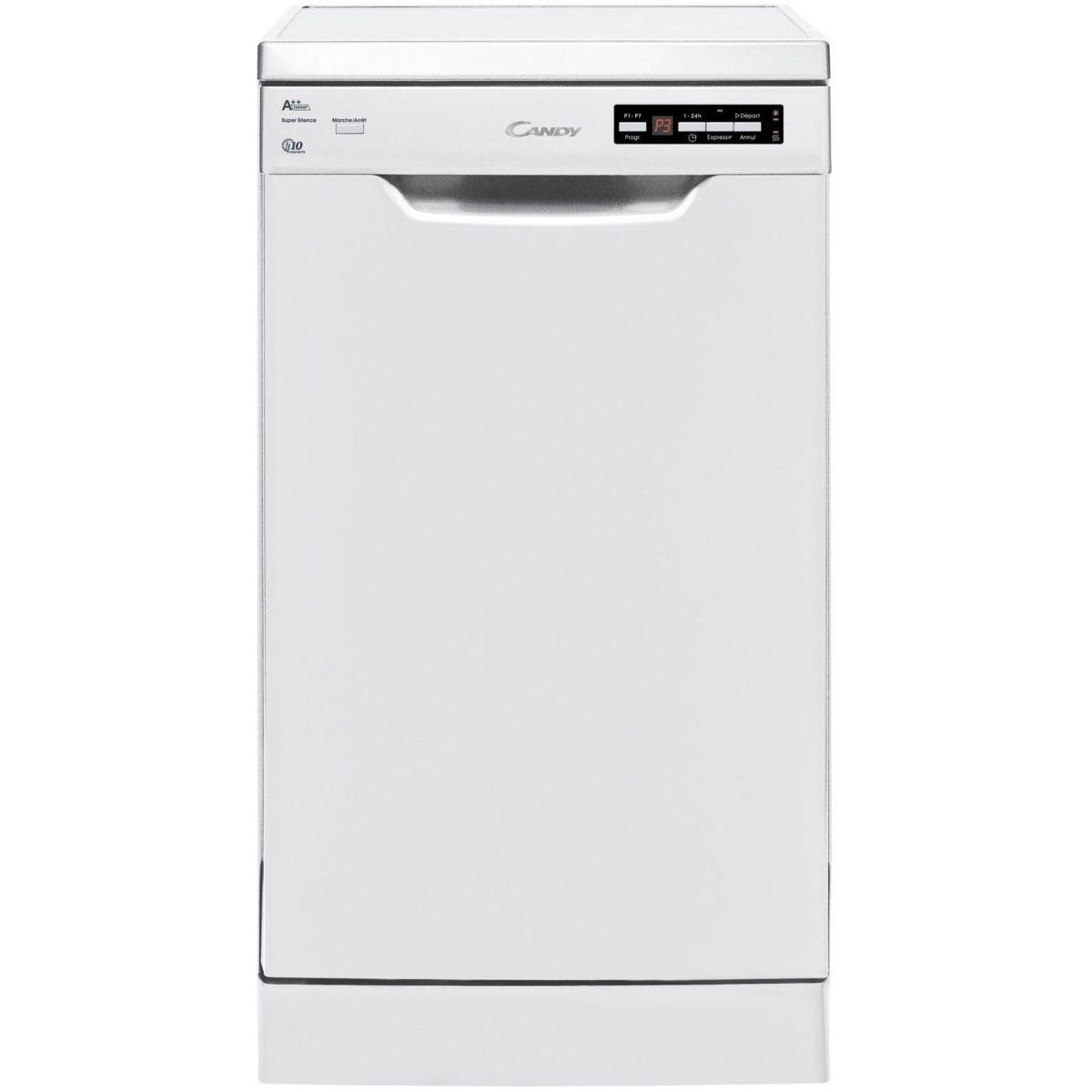 Lave vaisselle 45 cm CANDY CDP 2D1047W-47