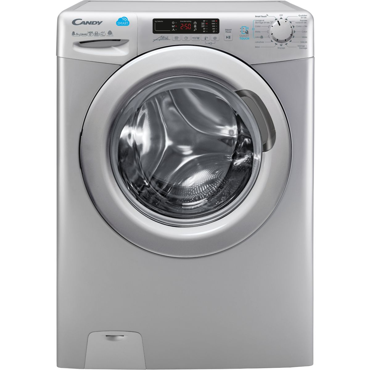 Lave-linge Séchant Frontal CANDY CSW485DS