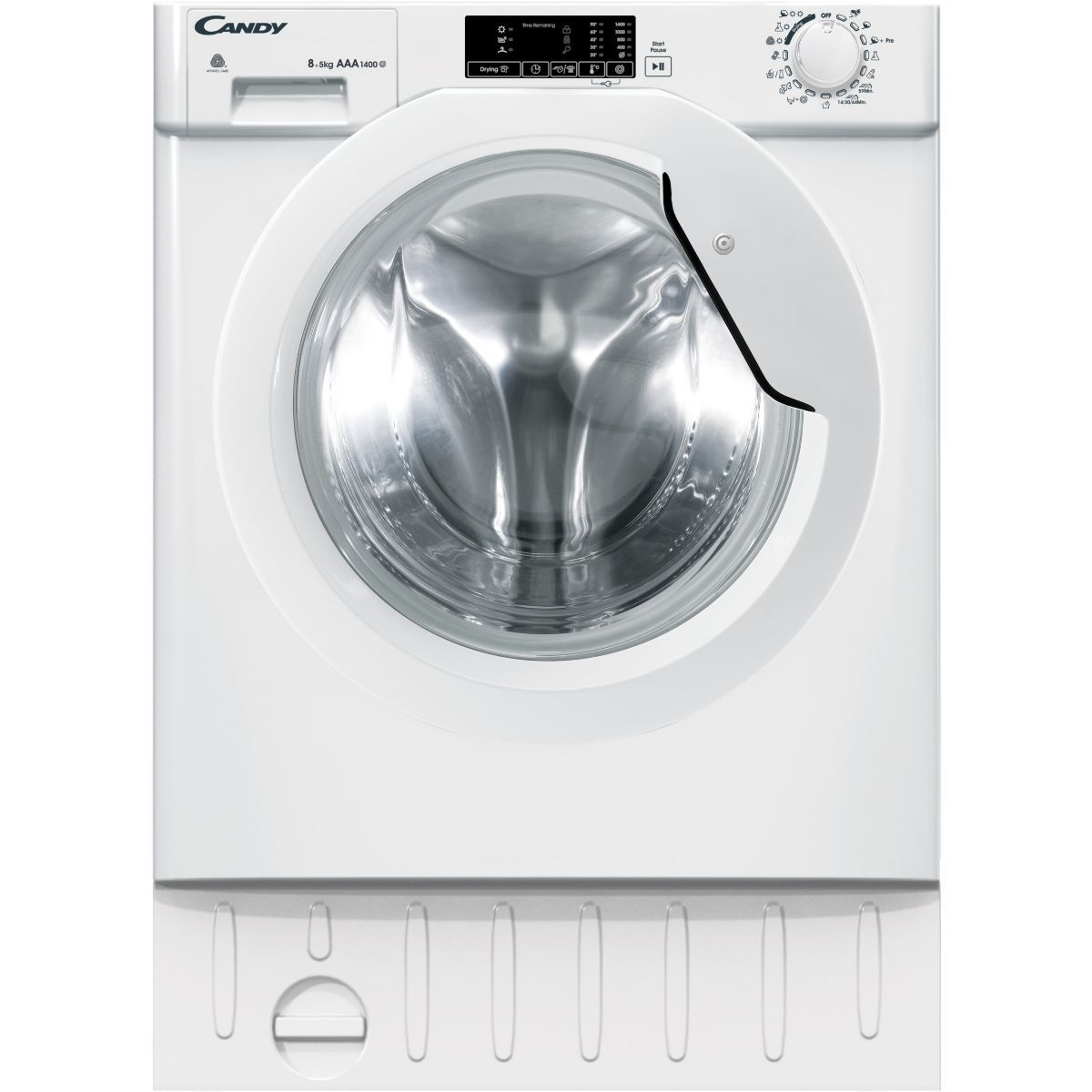 Lave linge séchant hublot encastrable CANDY CBWD 8514D-S