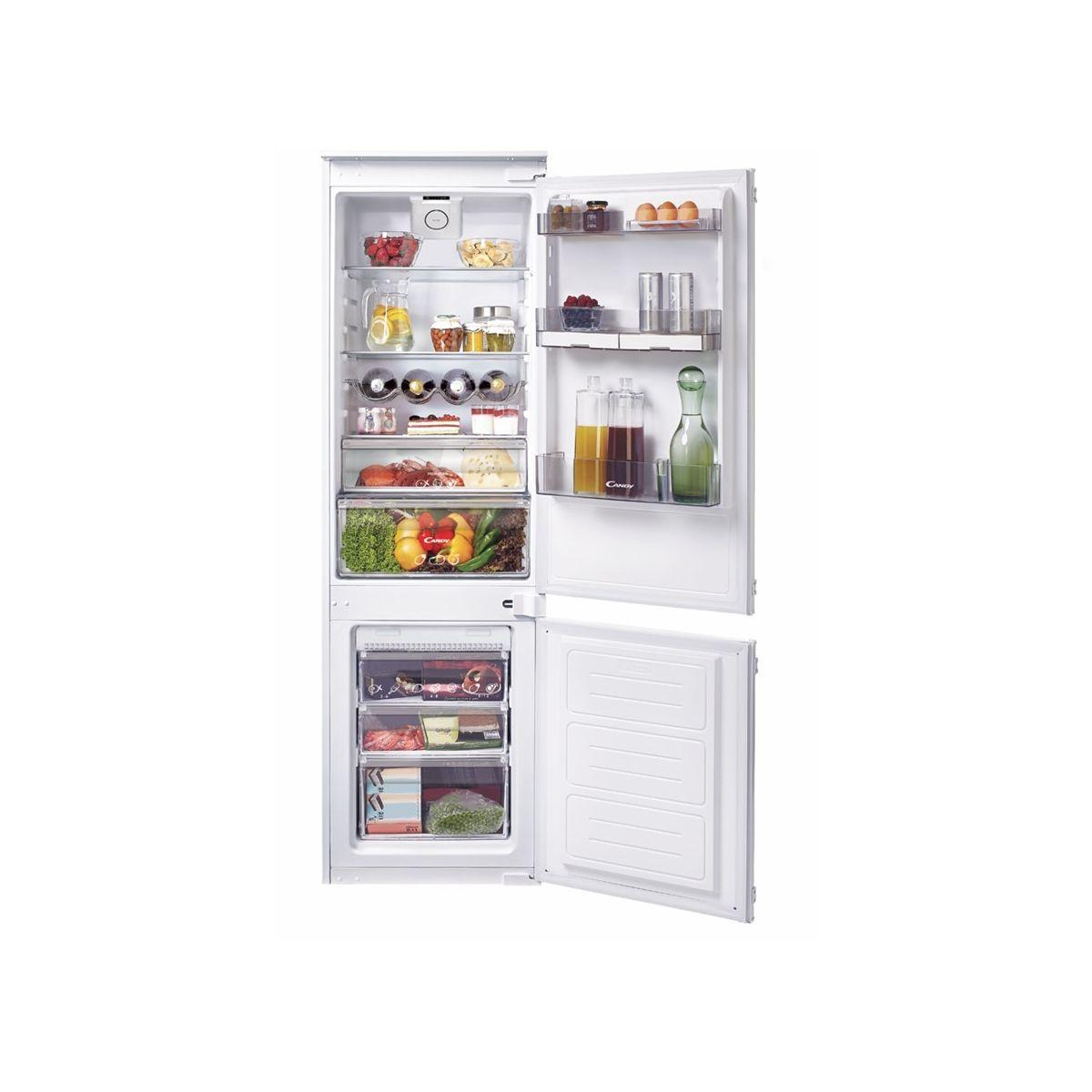 Réfrigérateur combiné encastrable CANDY BCBF172N