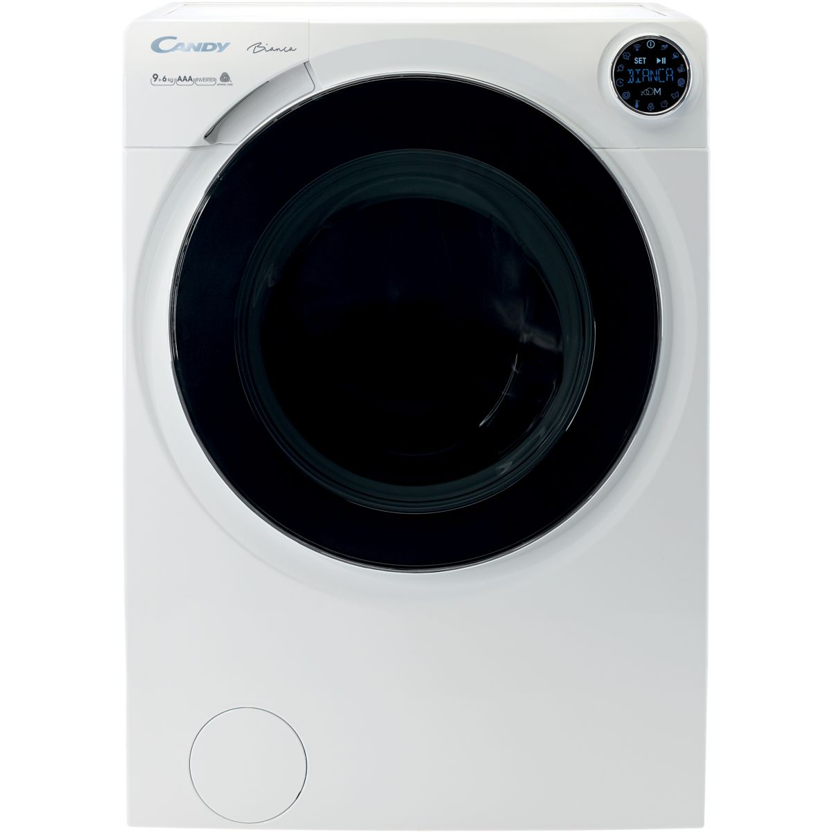 Lave linge séchant hublot CANDY BIANCA BWD 596PH3/1-S