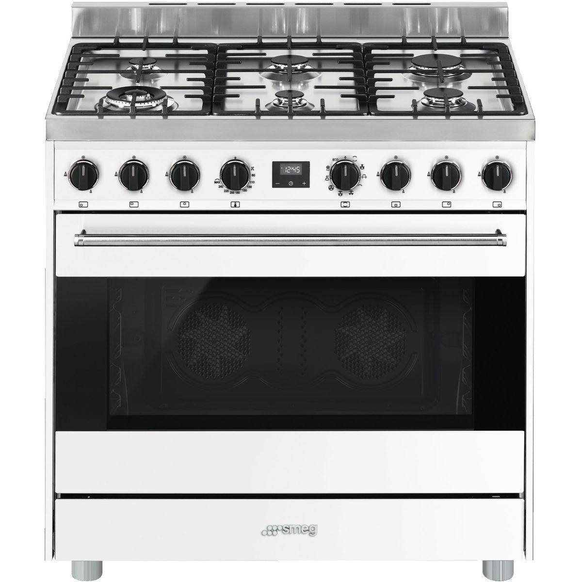 Piano de cuisson mixte SMEG B9GMBI9