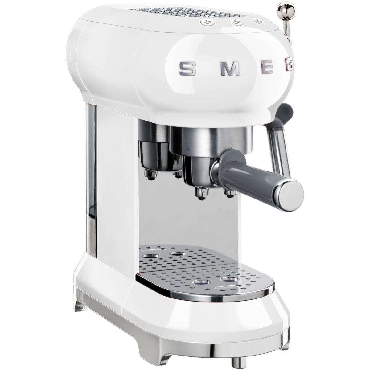 Machine à expresso SMEG ECF01WHEU Blanc
