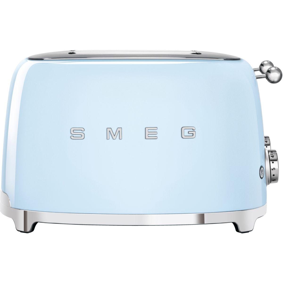 Grille-pain SMEG TSF03PBEU Bleu Azur