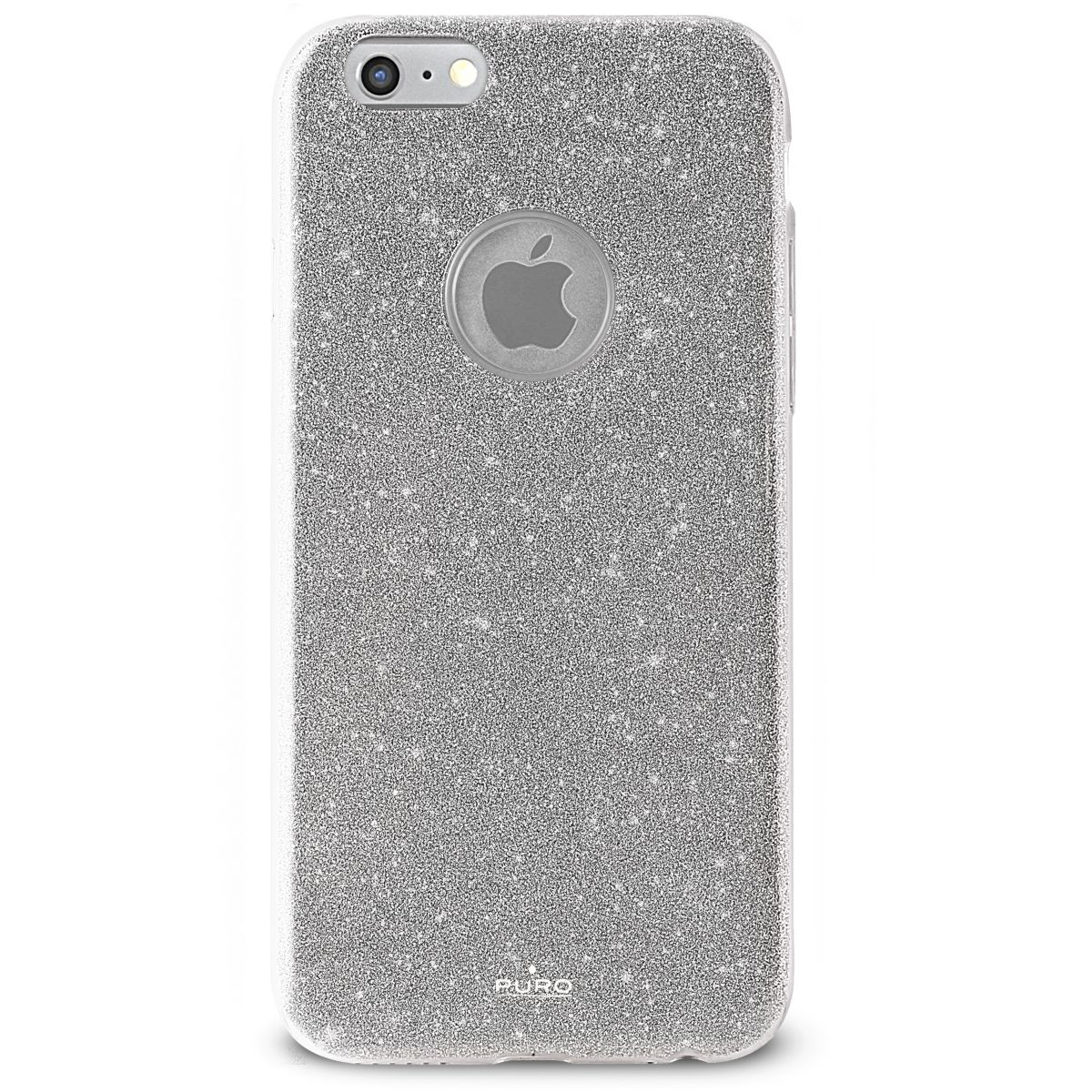 Coque PURO iPhone 7/8 pailleté silver