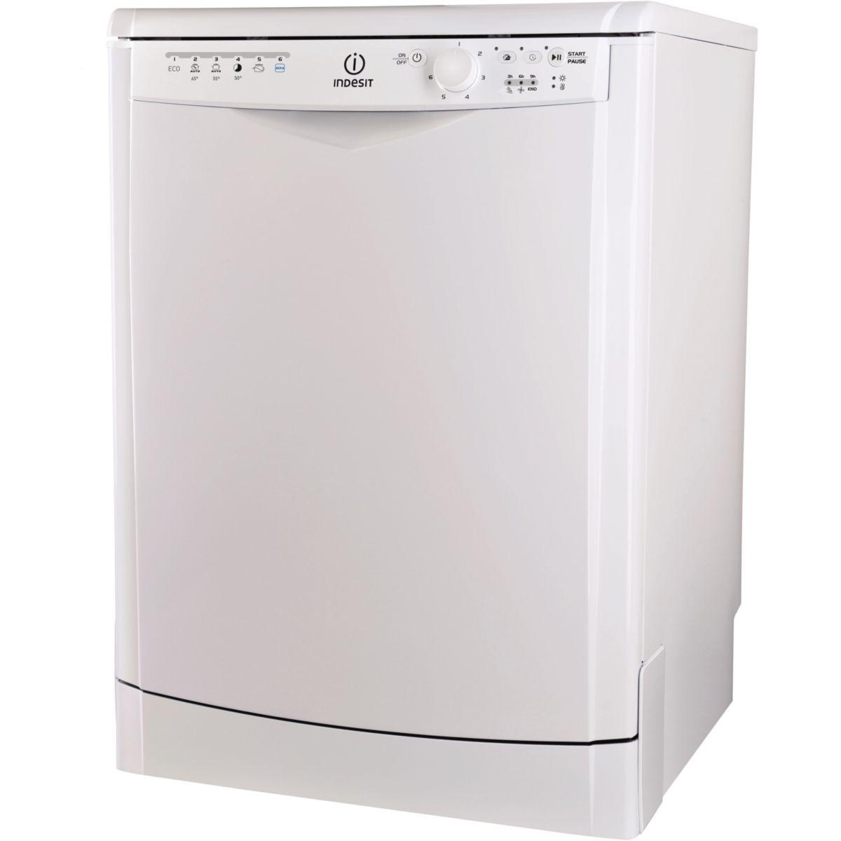 Lave-vaisselle 60cm INDESIT DDFG26B17EU (photo)