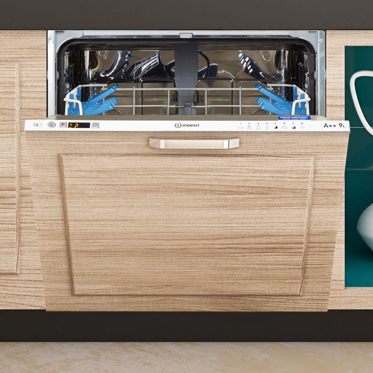 Lave vaisselle tout intégrable 60 INDESIT DIFP66B+9 EU