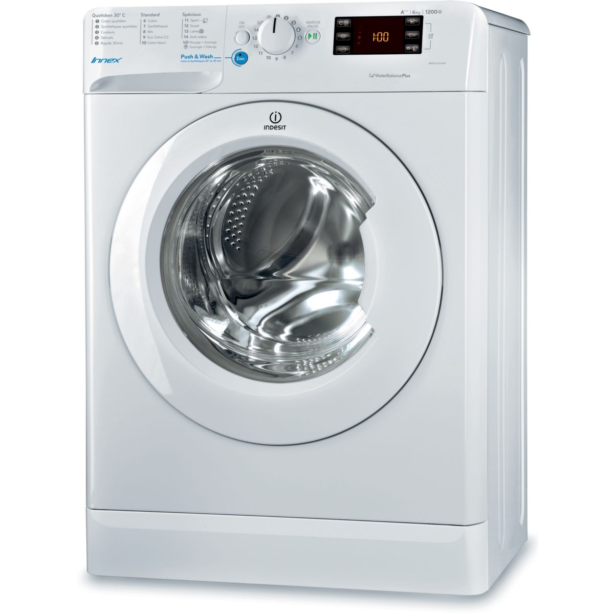 LL Front INDESIT BWSE61253WFR