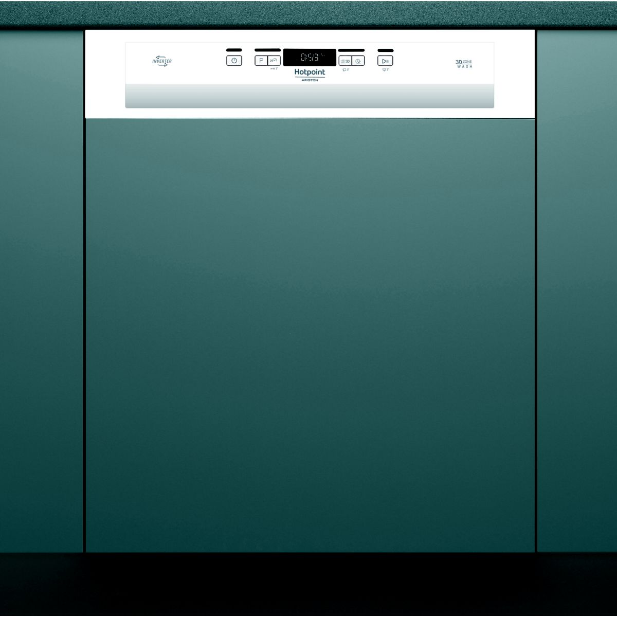 Lave-vaisselle Intégrable 60 HOTPOINT HBO3T21W