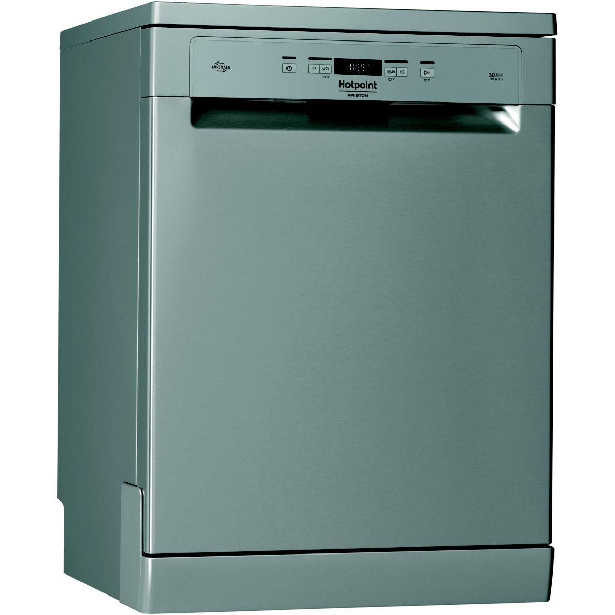Lave-vaisselle 60cm HOTPOINT HFO3C21WCX (photo)