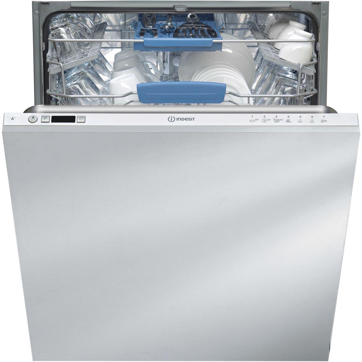 Lave vaisselle tout intégrable INDESIT CDIFP67T9CFR