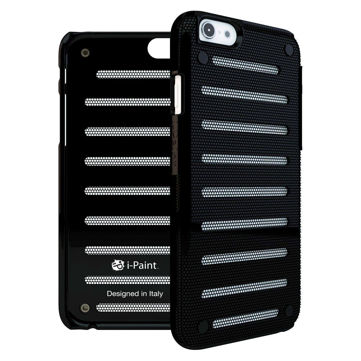 Coque IPAINT iPhone 6/6s noir