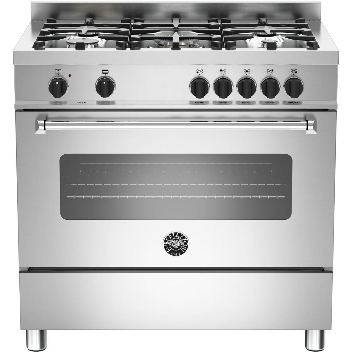 Cuisinière gaz BERTAZZONI MAS90 5 MFE S XE