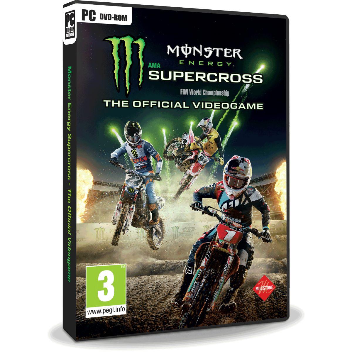 Jeu PC BIGBEN Monster Energy Supercross (photo)