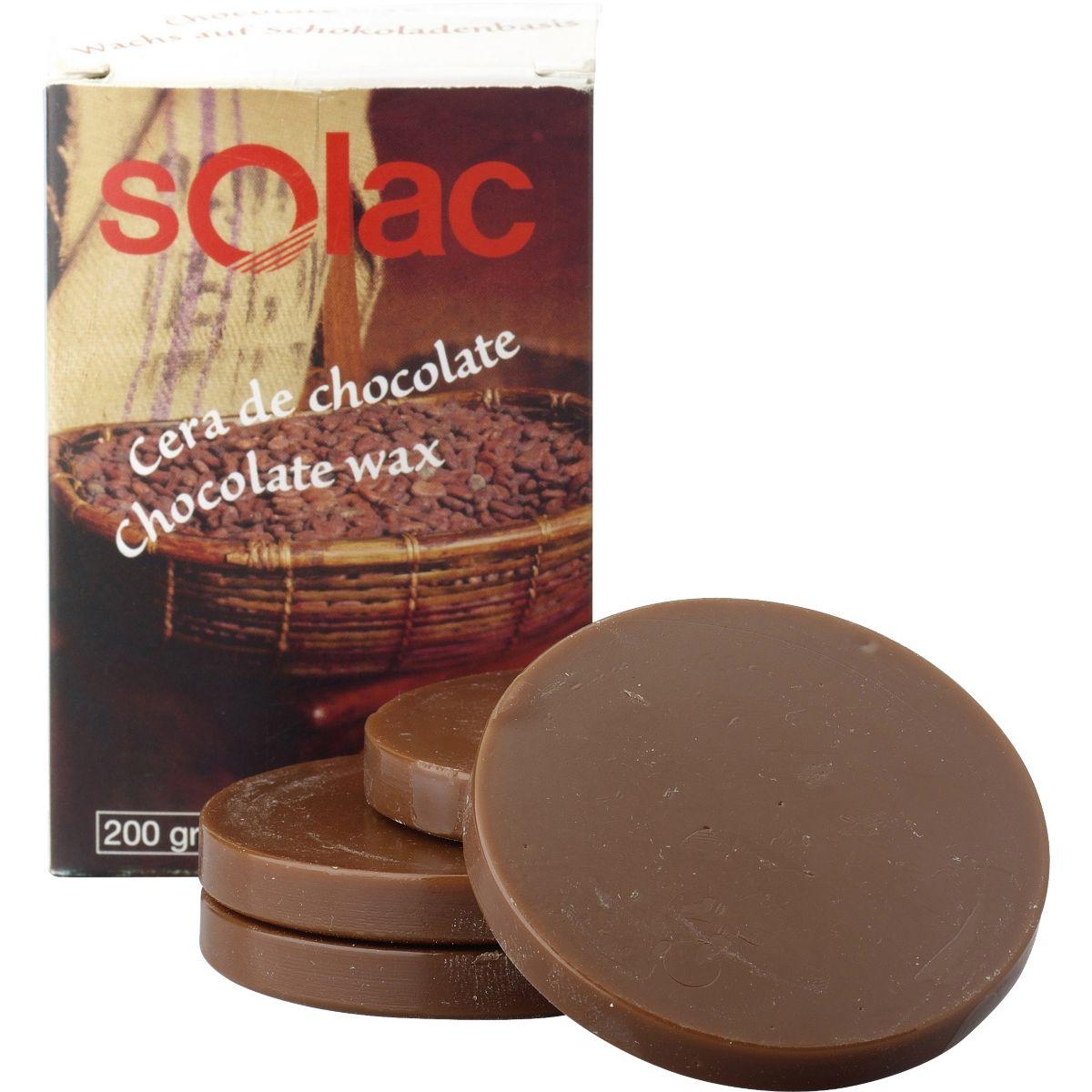 Cire SOLAC Chocolat x10 capsules (photo)