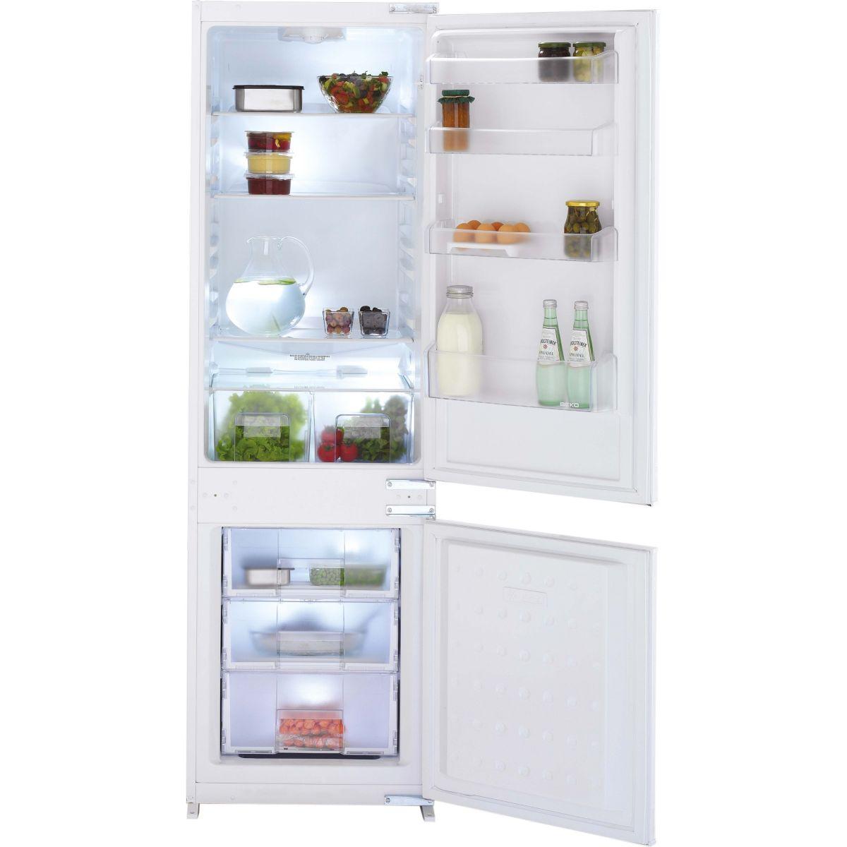 Réfrigérateur combiné encastrable BEKO SCRC771ASS