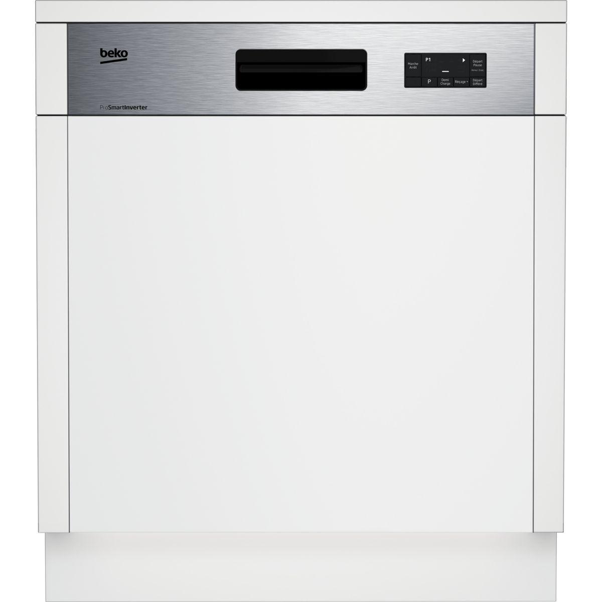 Lave vaisselle encastrable BEKO PDSN15310X