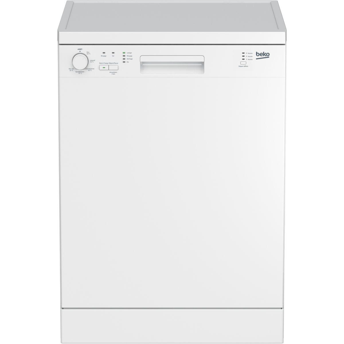 Lave vaisselle 60 cm BEKO LVP 62W1
