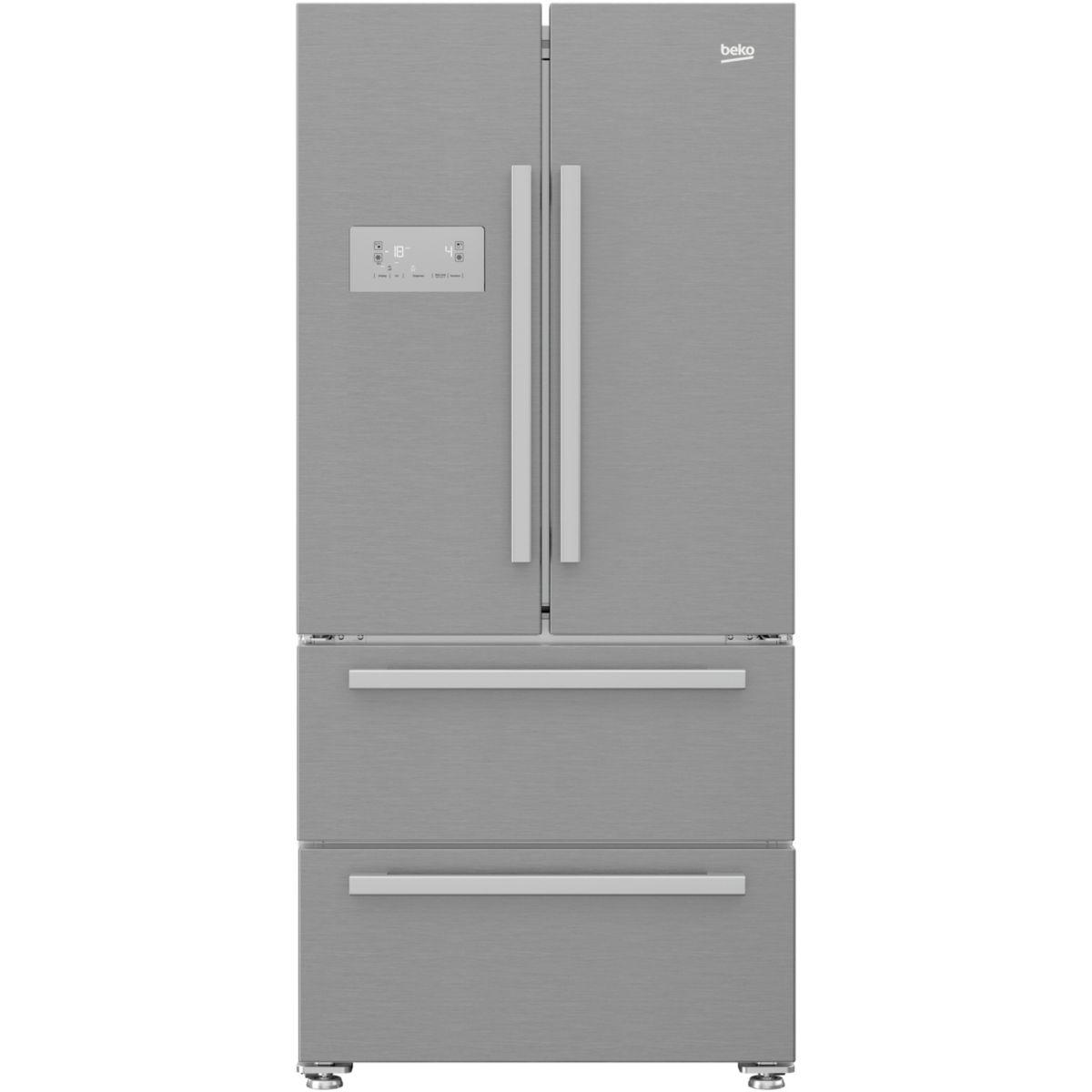 Réfrigérateur multi portes BEKO GNE60522X