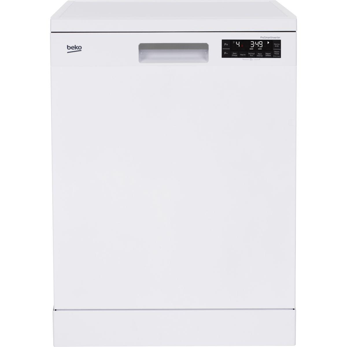 Lave vaisselle 60 cm BEKO DFN38B76W Blanc