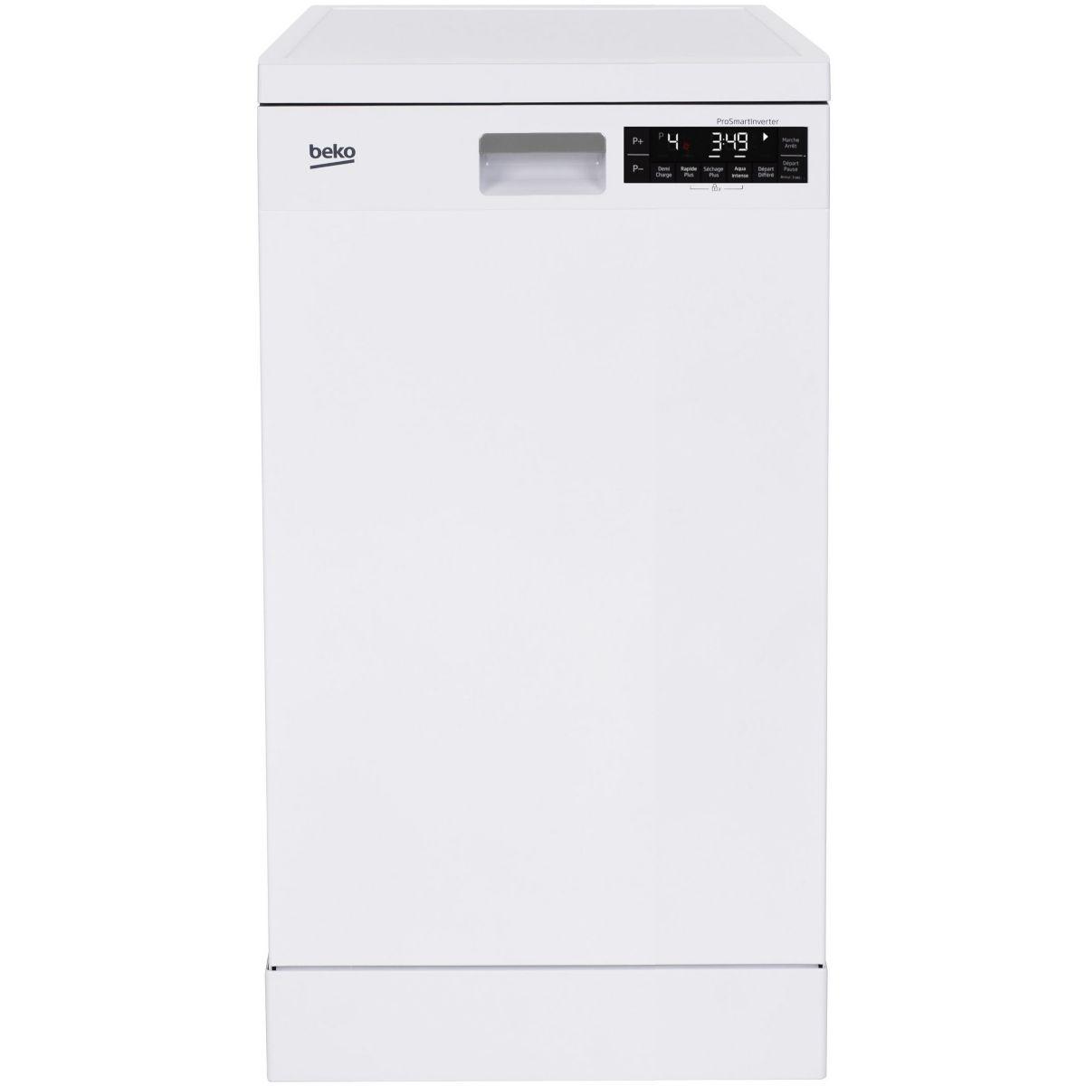 Lave vaisselle 45 cm BEKO DFS28120W
