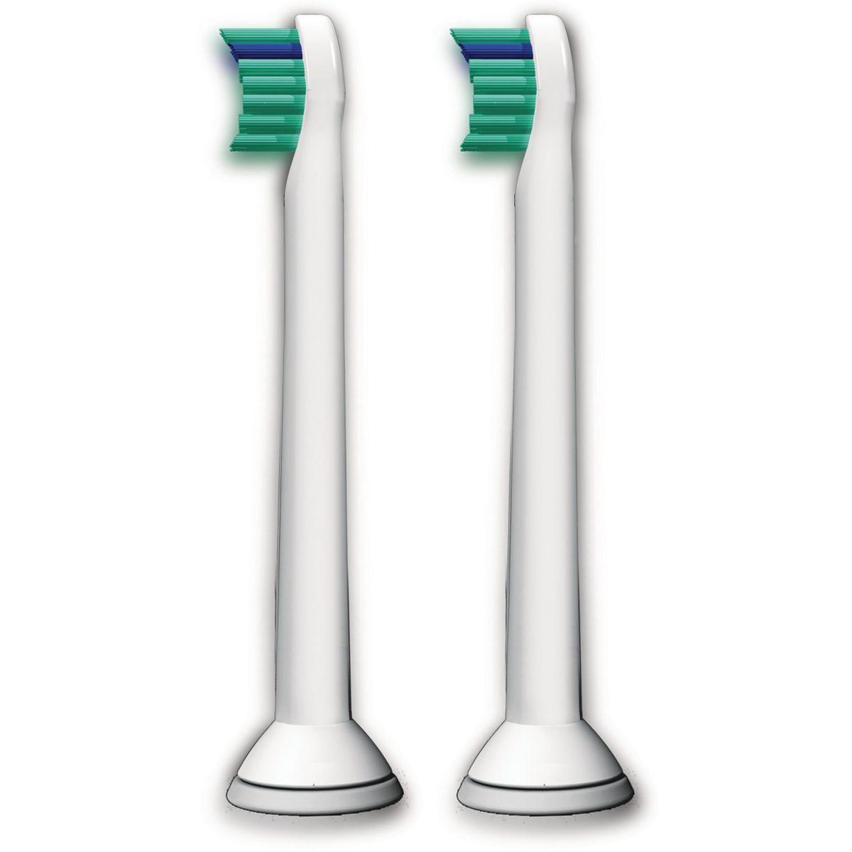 Brossette dentaire PHILIPS HX6022/07 X2 (photo)