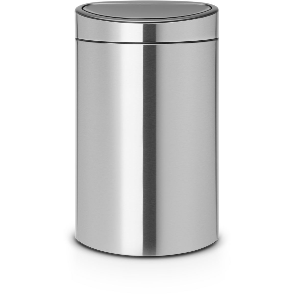 Poubelle BRABANTIA Touch bin 40L Matt St (photo)