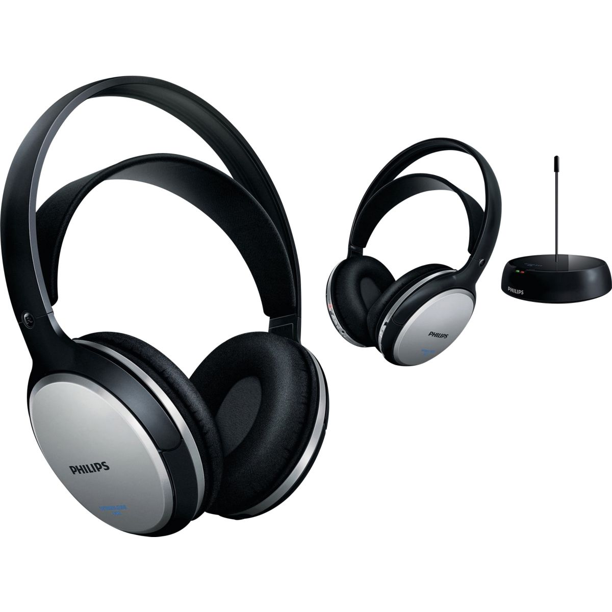 Casque Hifi sans fil PHILIPS DOUBLE SHC5112/10