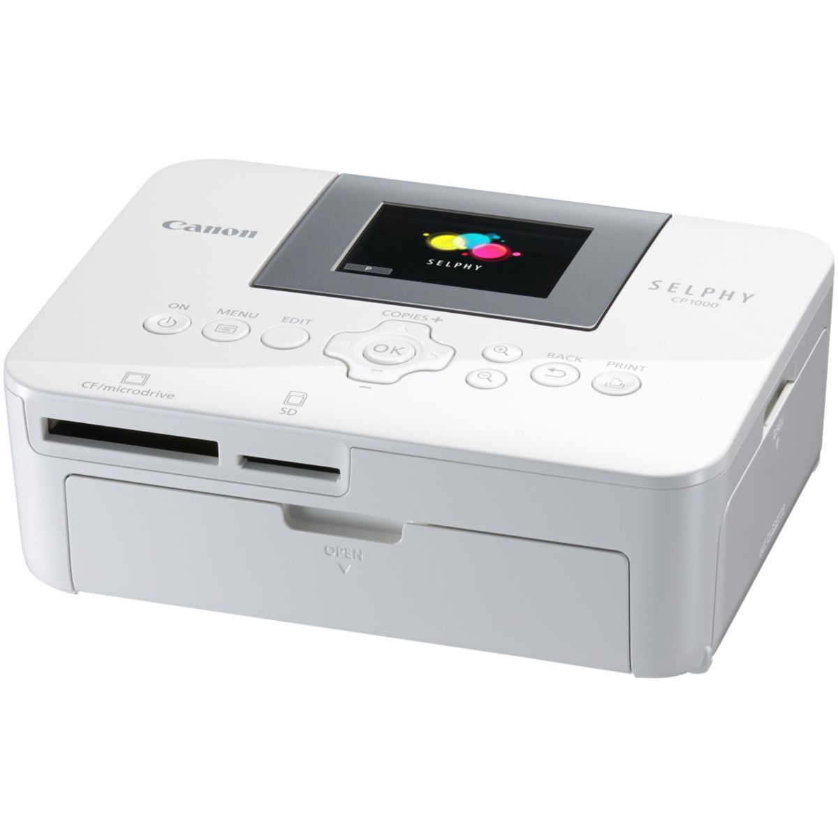Imprimante photo CANON CP1000 blanche