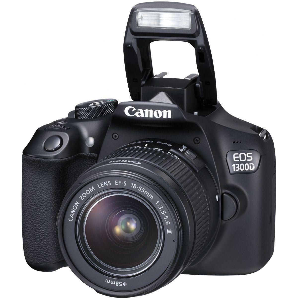 Reflex CANON EOS 1300D + EF-S 18-55DC