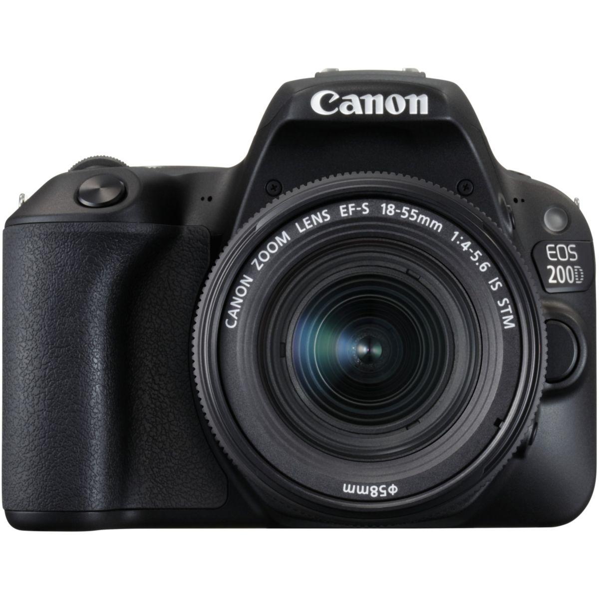 Appareil photo Reflex CANON EOS 200D + 18-55mm + 50mm f/1.8