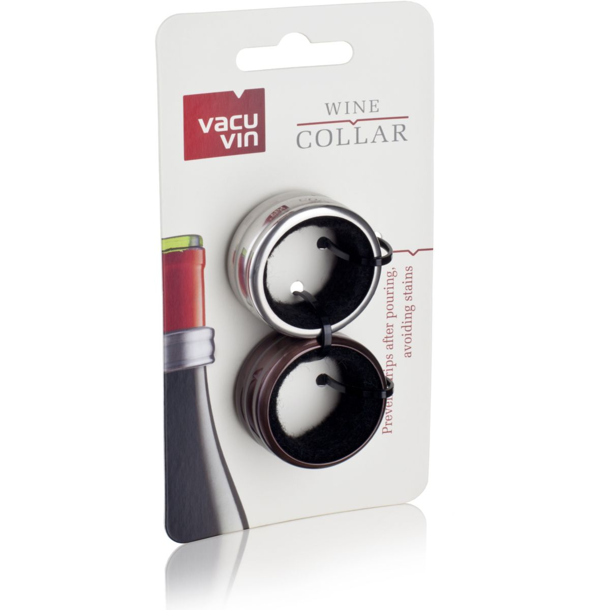 Collier VACUVIN anti-goutte lot de 2