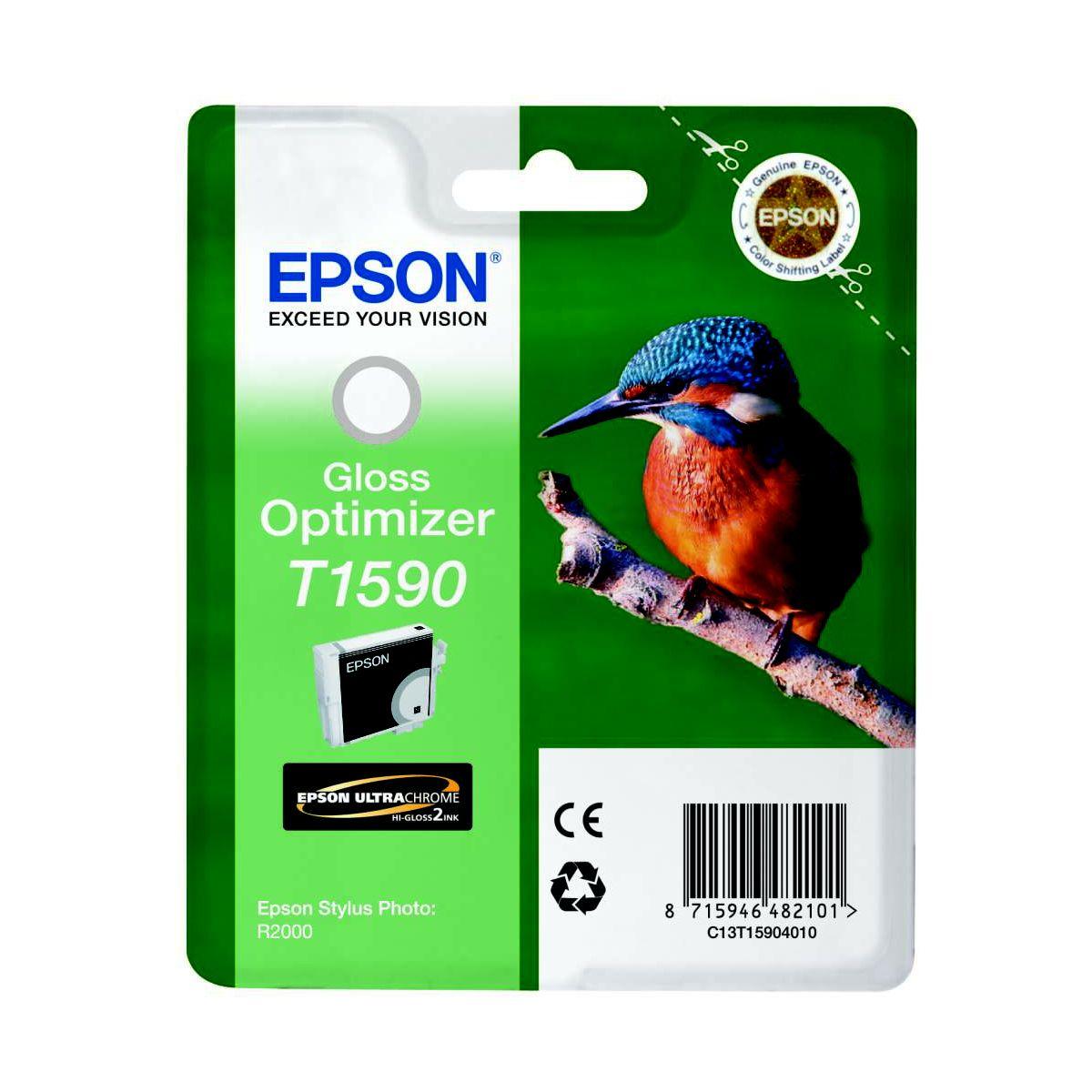 Optimiseur de brillance EPSON T1590 Série Martin Pêcheur