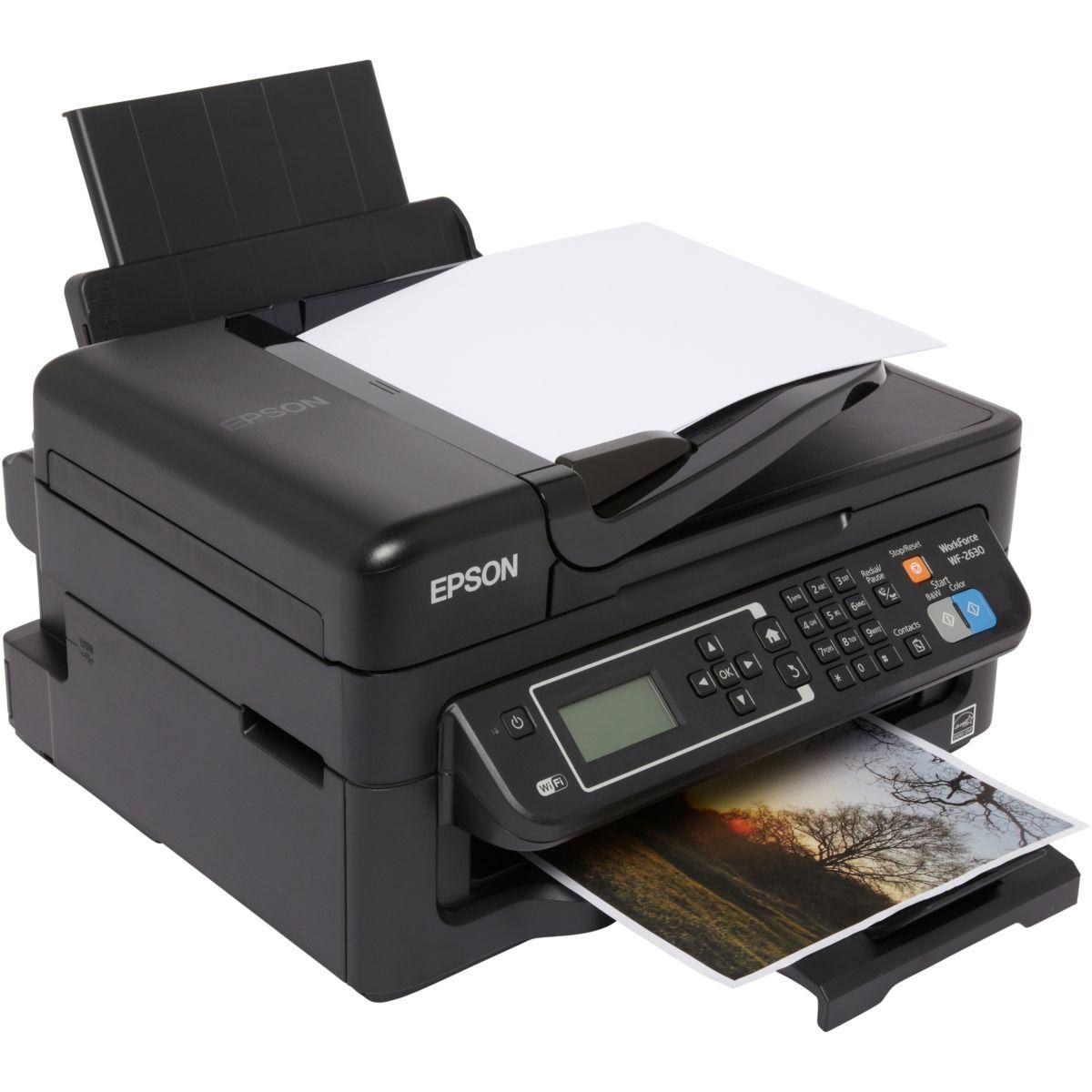 Imprimante jet d'encre EPSON WF-2630WF (photo)