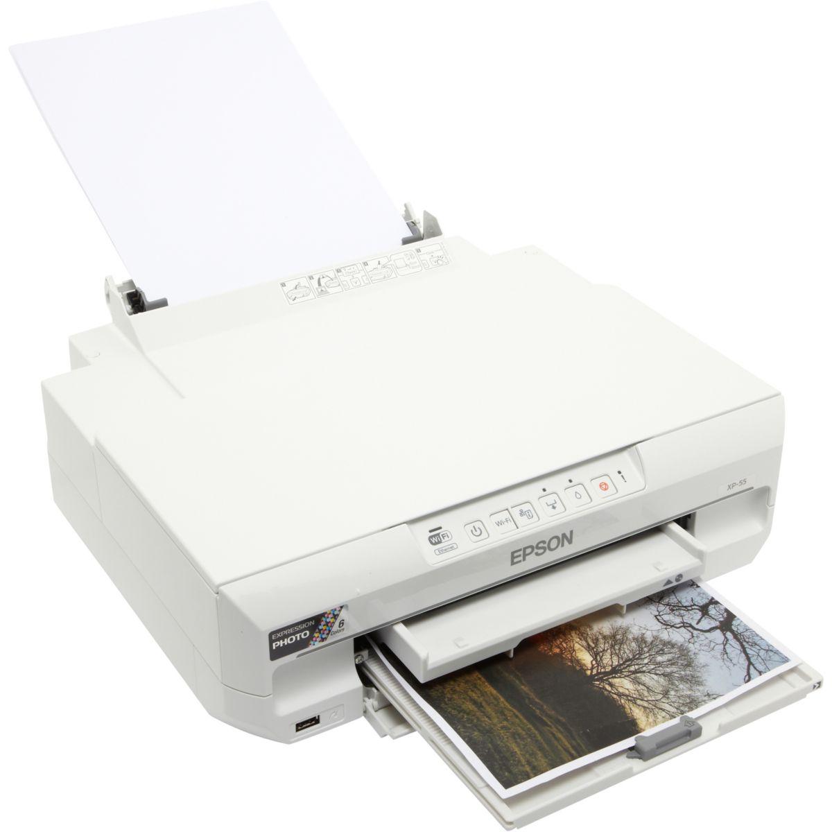 Imprimante monofonction jet d'encre EPSON Expression Photo XP-55