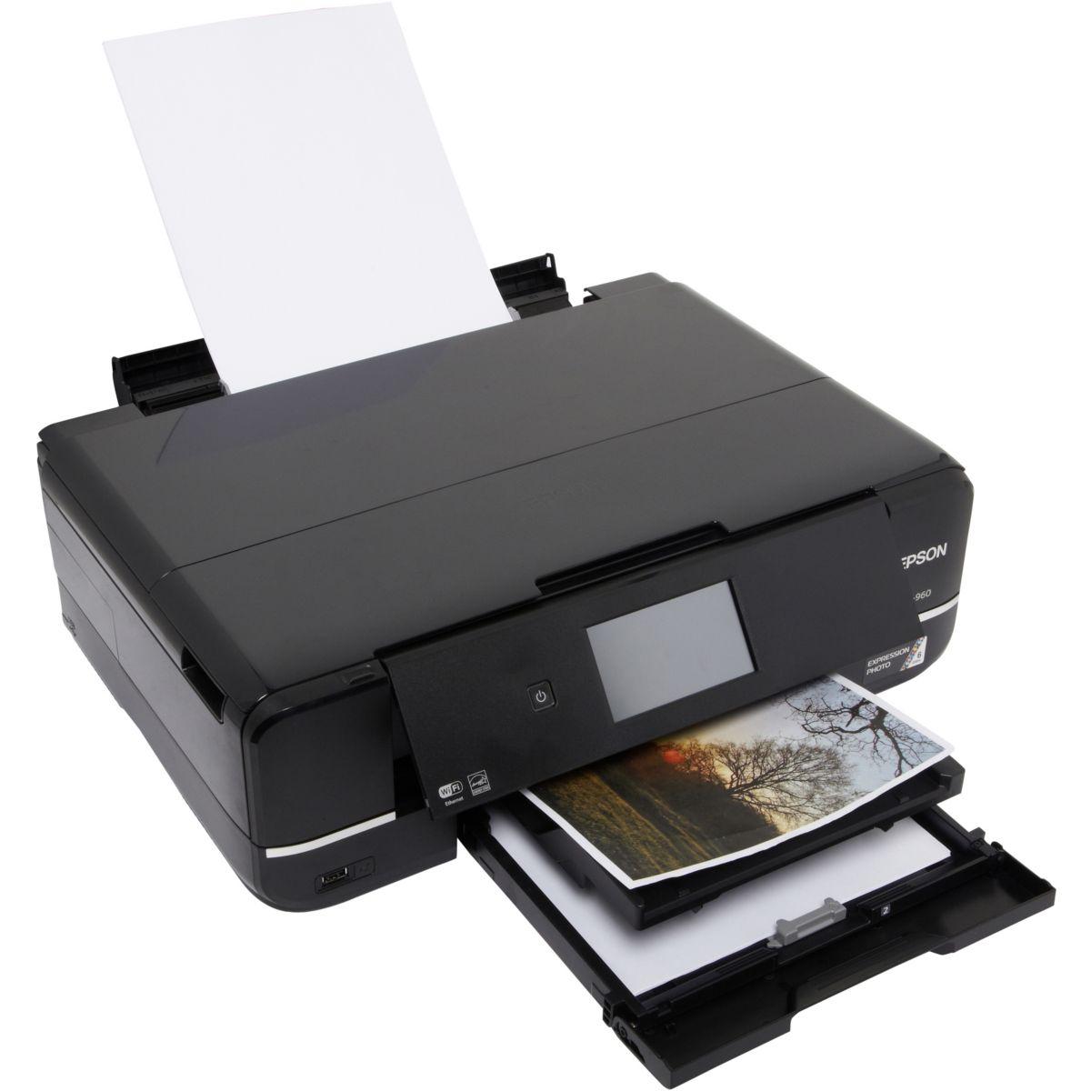 Imprimante jet d'encre EPSON XP 960 (photo)