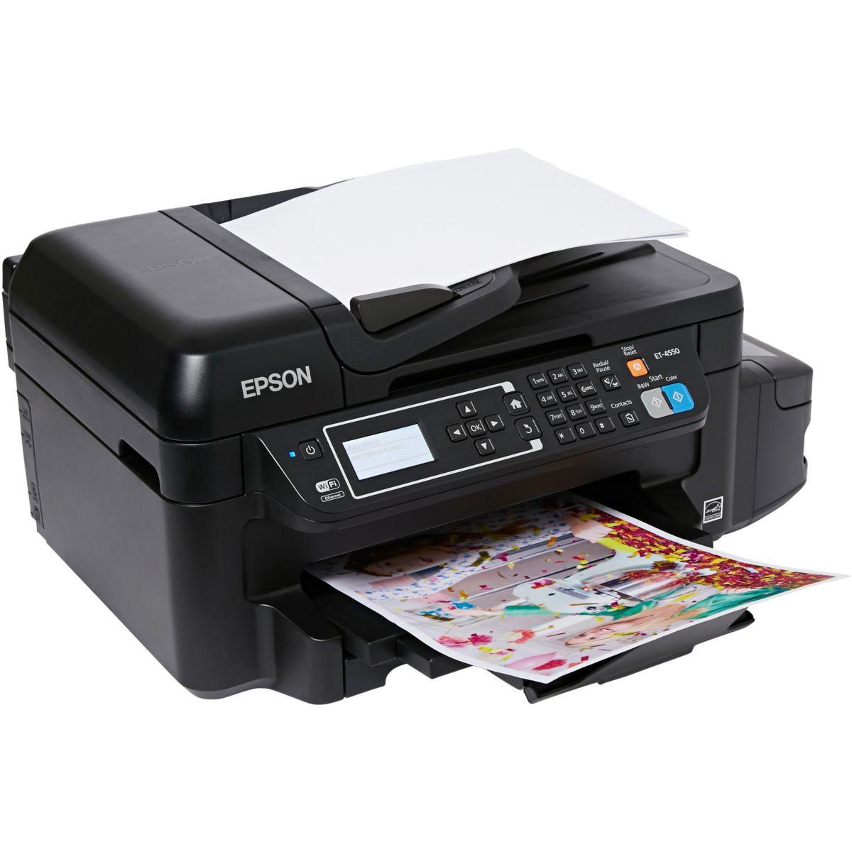 Imprimante multifonction jet d'encre EPSON EcoTank ET-4550