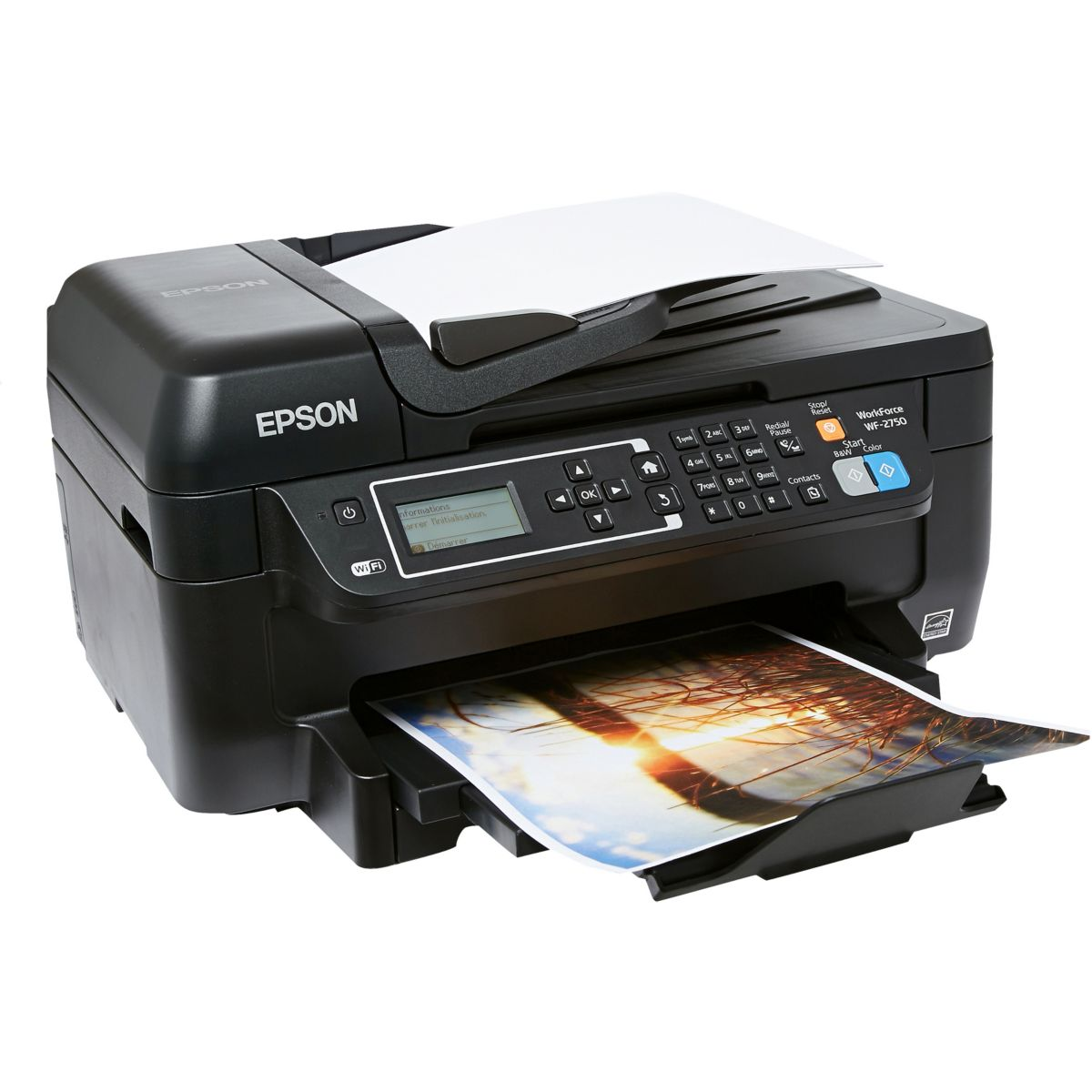 Imprimante jet d'encre EPSON WF-2750DWF