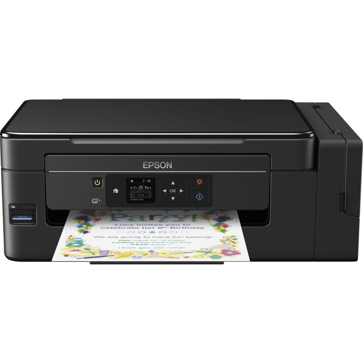 Imprimante multifonction jet encre EPSON EcoTank ET-2650