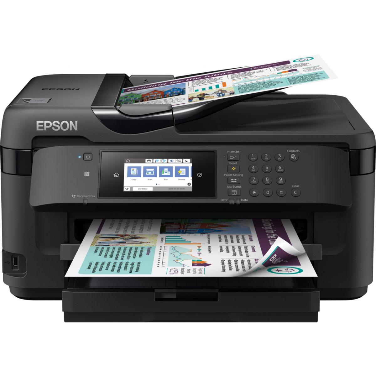 Imprimante jet d'encre EPSON WF-7715DWF (photo)