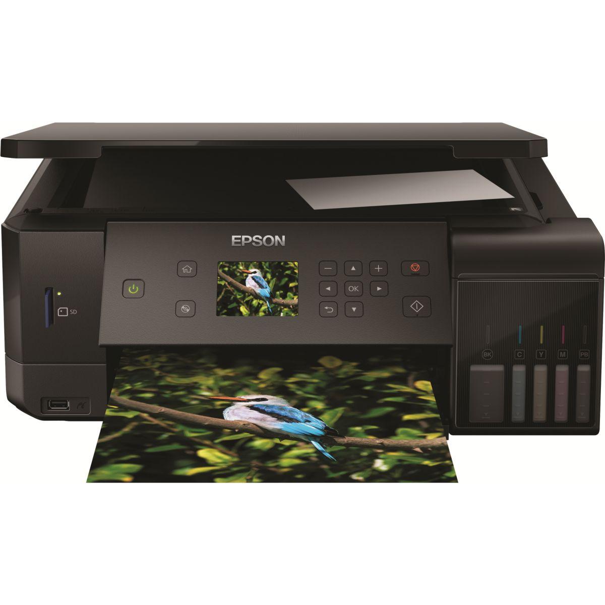 Imprimante jet d'encre EPSON EcoTank ET-7700 (photo)