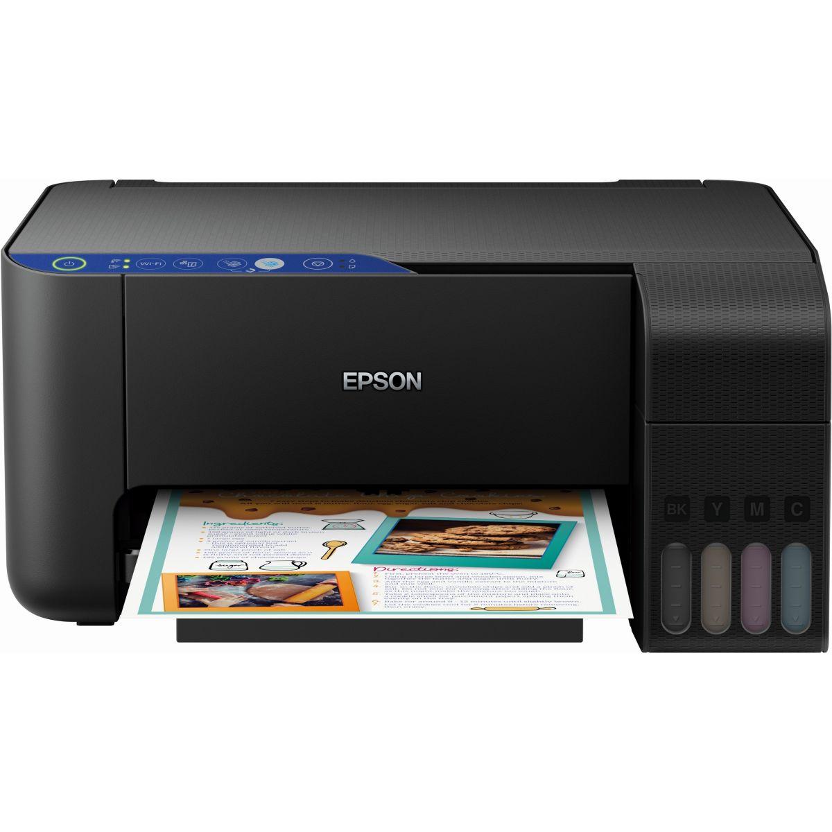 Imprimante jet d'encre EPSON EcoTank ET-2711 (photo)