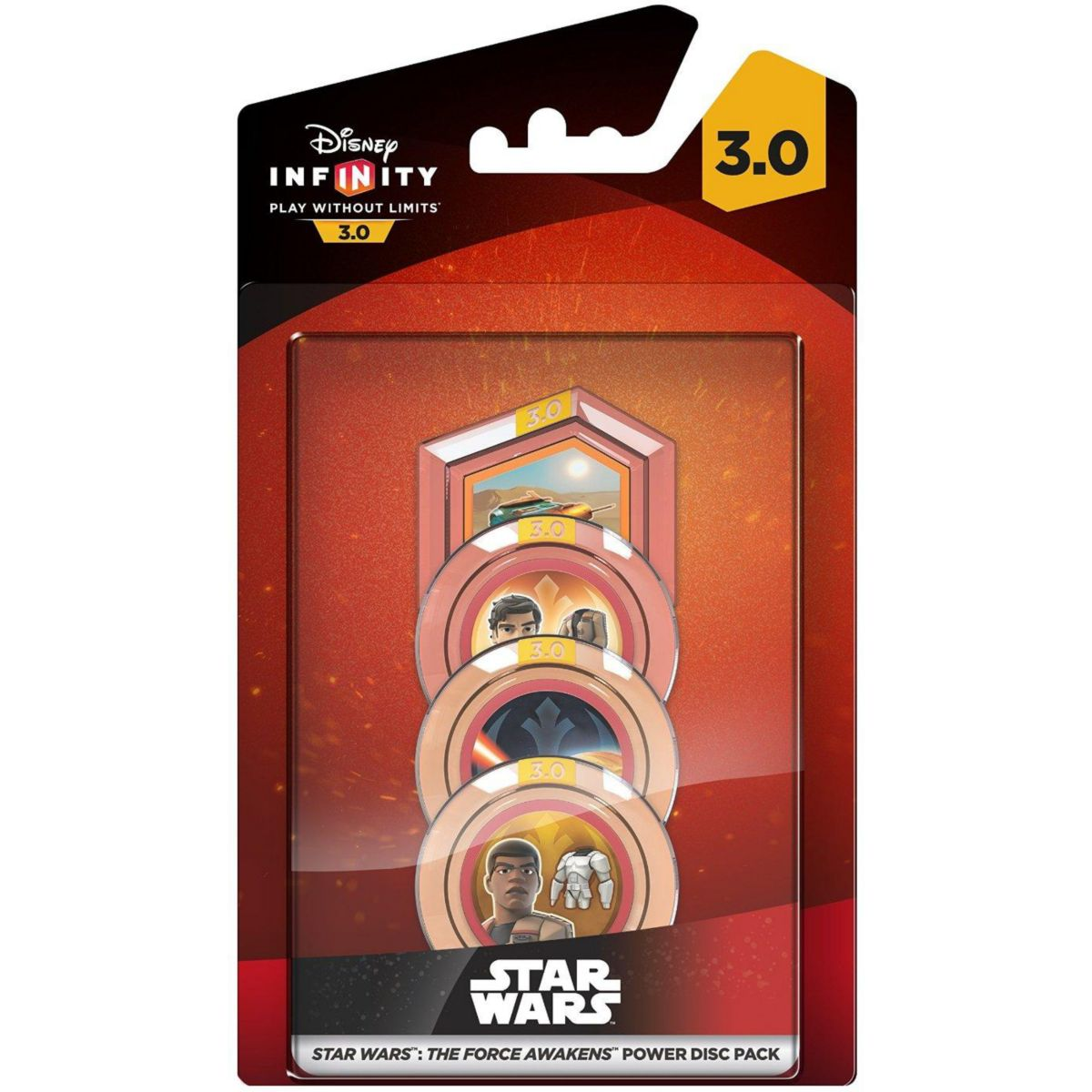 Figurine DISNEY Infinity 3.0 Pack de Power Discs Force Awakens