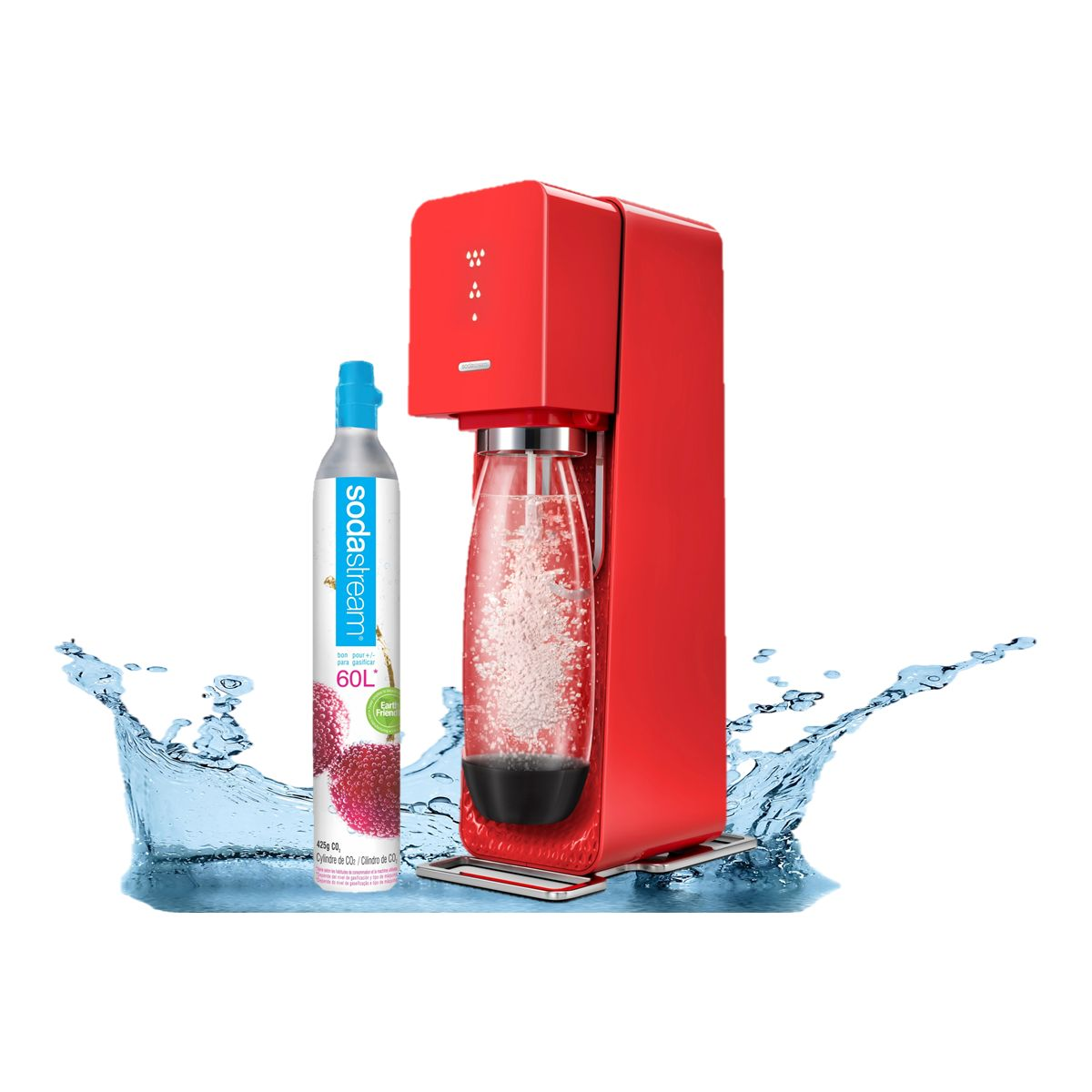 Machine à soda SODASTREAM Source Rouge