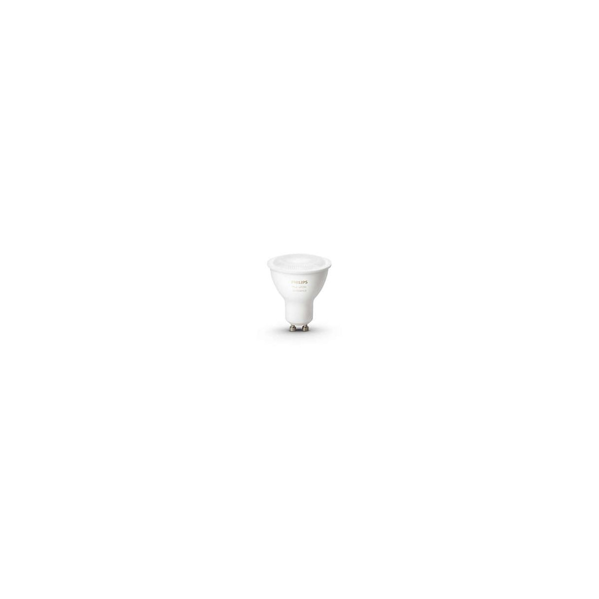Ampoule connectable PHILIPS 5.5W GU10 EU Hue White & Ambia...
