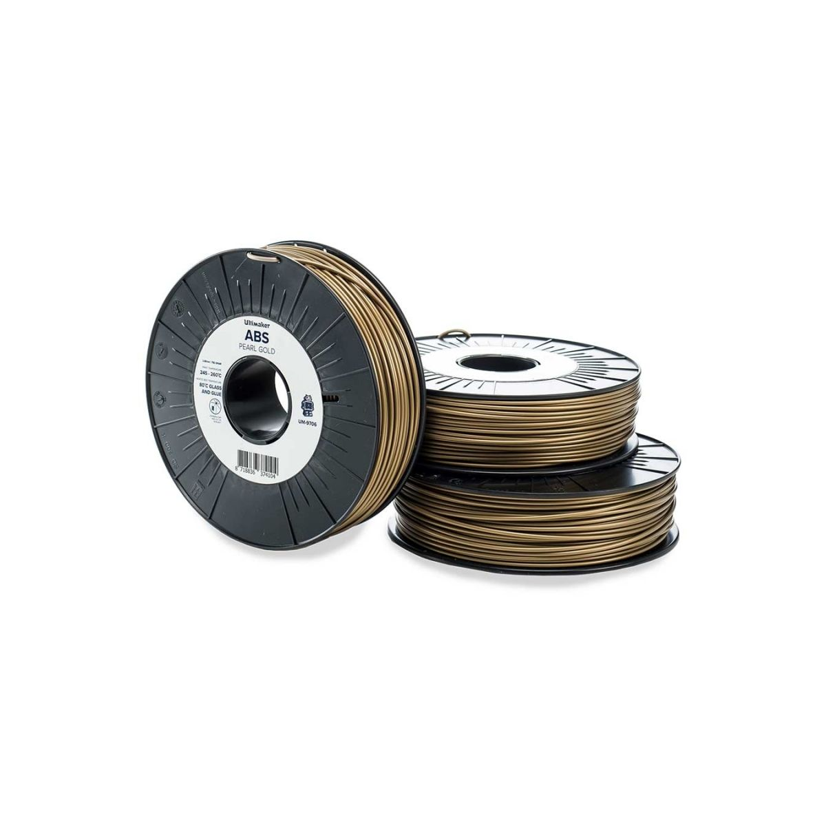 Filament 3D ULTIMAKER ABS Or 2.85mm