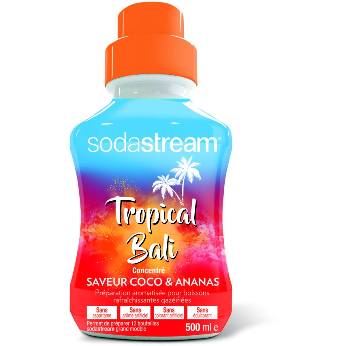 Concentré SODASTREAM Coco Ananas 500 ML