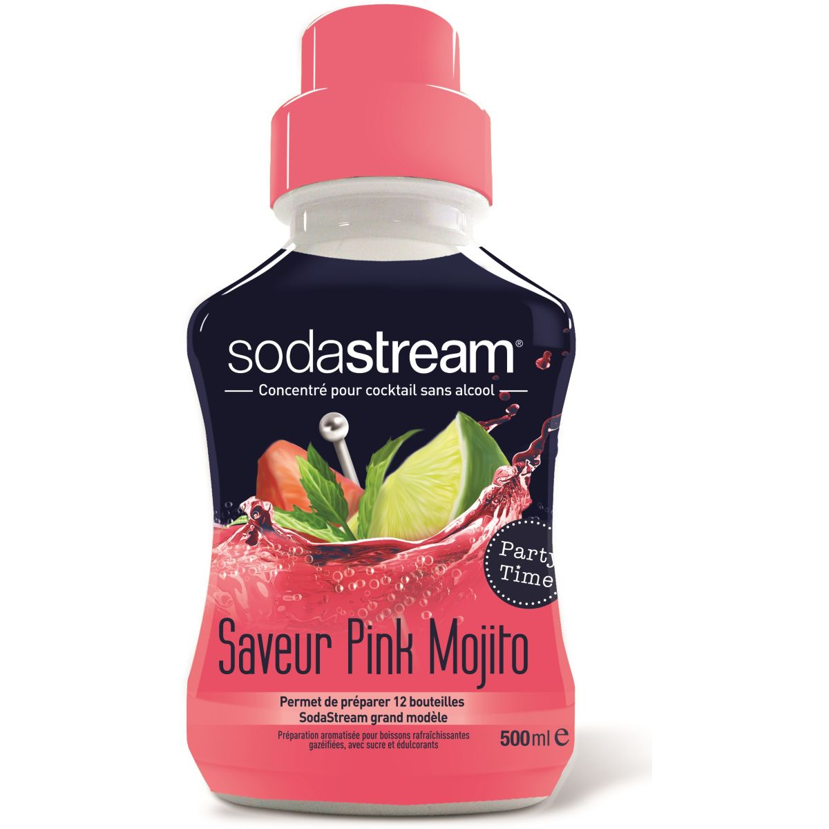 Concentré SODASTREAM PINK MOJITO 500ML