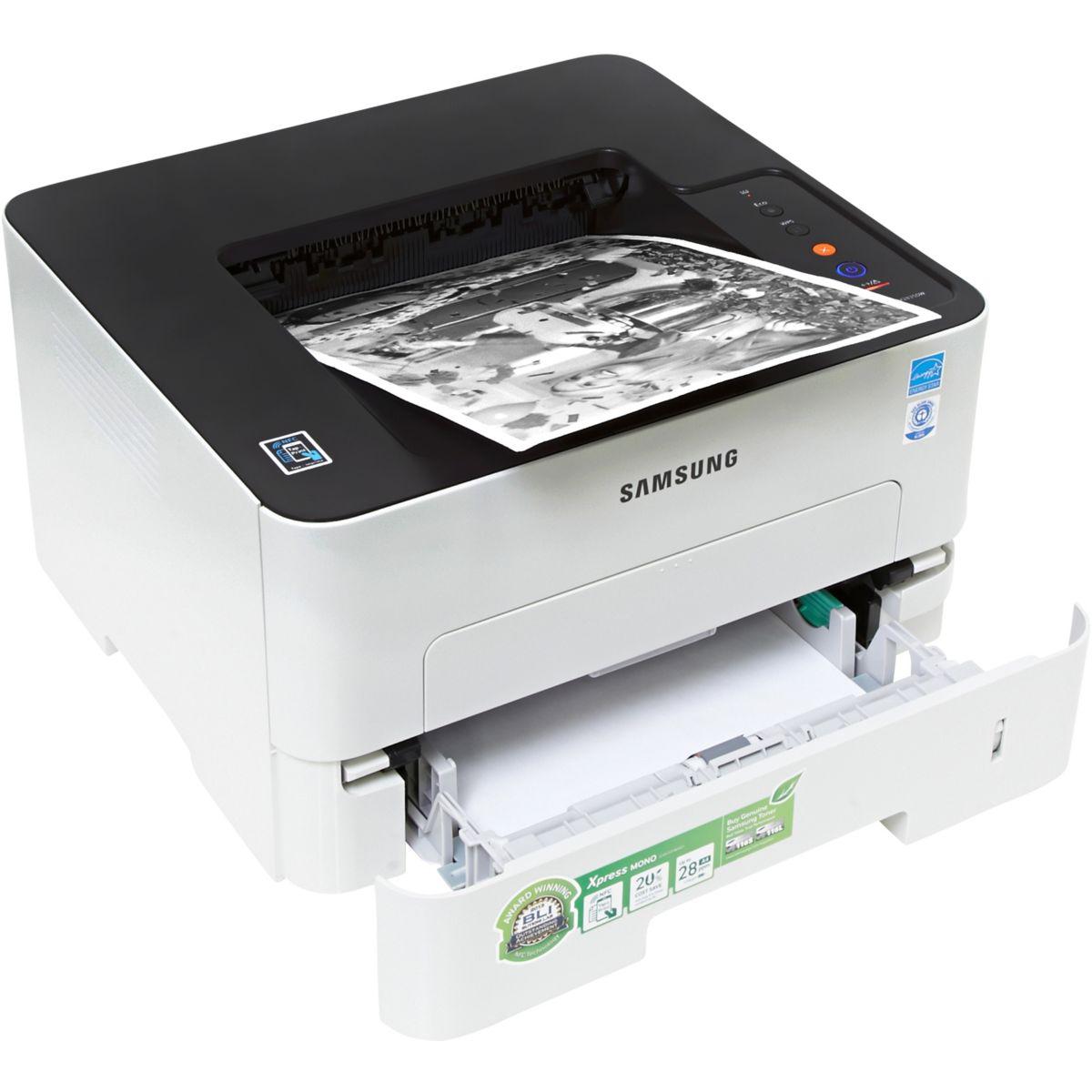 Imprimante monofonction laser monochrome SAMSUNG SL-M2835DW (photo)